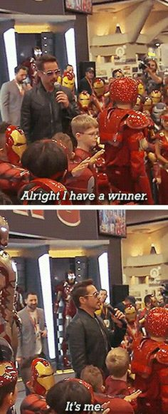 Funny pictures about Iron Man Contest. Oh, and cool pics about Iron Man Contest. Also, Iron Man Contest photos. Funny Marvel Memes, Dc Memes, Marvel Jokes, Avengers Memes, Funny Memes, Funny Videos, Funny Comics, Meme Meme, Movie Memes