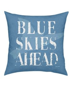 Brighten décor while creating a positive, uplifting atmosphere! With a chic, on-trend design and a heartwarming message, this unique pillow transforms sofas and chairs while expressing personal style.18'' W x 18'' H x 6'' DCotton / polyfillMade in the USA