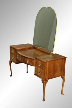 Chippendale Walnut Queen Anne Ladies Vanity Desk Queen Anne Furniture, Antique Furniture, Big Box Store, Vanity Desk, Master Bedroom, Home And Garden, Projects, Project Ideas, The Originals
