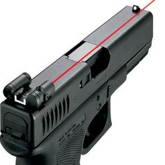 LaserLyte Rear Sight Laser. Available from Cabela...link here...simply add it to your weapon.