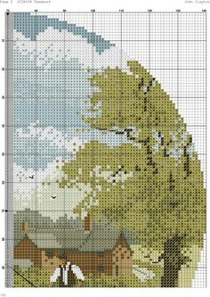 Cross Stitch House, Counted Cross Stitch Patterns, Teamwork, Cross Stitching, Diagram, Detail, Shoes, Food, Cross Stitch