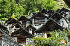 Visita di Brontallo uno dei paesi più belli e caratteristici della Vallemaggia canton Ticino