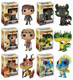I have Hiccup, Astrid, Hookfang and Barf & Belch. I used to have Stormfly too but my dog chewed it up. The only one who is really missing is Toothless :'( Which is the one I'm dying to have X'D :'D :') ^_^ ^.^ ♡