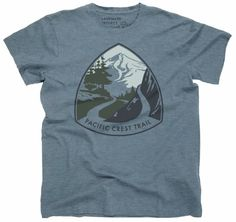 The Landmark Project Pacific Crest Trail T-Shirt