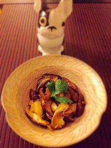 sauté de shiitake au beurre et soja #cuisine #japon #cuisinejaponaise