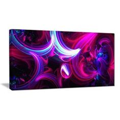 Purple wall art is funky, cute and currently trendy. You can see how popular purple home wall art décor is on home décor shows on TV, Online and even in your own community. Additionally purple wall art is truly charming and pretty. #purple    Abstract purple and pink wall art - new age wall art