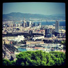 #barcelona #bcn #landscape #panorama #sky #port #portvell #ilovebcn #barcelonando #maximocherry #barcelona3 #catalunya #catalonia #spain #espana #spagna #jazz #jazzmusic #ilovespain #love #relax #fun #fotodesomni #photooftheday
