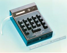 Handheld calculators:  The first handheld calculator was developed at Texas Instruments by Jack Kilby, Jim Van Tassel and Jerry Merryman in 1967.