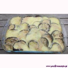 Auberginenauflauf unser Rezept für einen vegetarischen Auberginenauflauf mit Nudeln vegetarisch