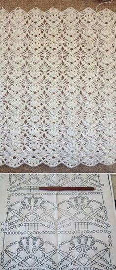Watch This Video Beauteous Finished Make Crochet Look Like Knitting (the Waistcoat Stitch) Ideas. Amazing Make Crochet Look Like Knitting (the Waistcoat Stitch) Ideas. Crochet Leaves, Crochet Motifs, Crochet Diagram, Crochet Chart, Free Crochet, Poncho Crochet, Beau Crochet, Crochet Afghans, Irish Crochet