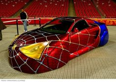 Cool Cars cool 2017: Spiderman car - wow...  Cars Check more at http://autoboard.pro/2017/2017/04/14/cars-cool-2017-spiderman-car-wow-cars/