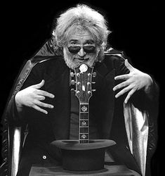 Jerry Garcia, the magician.