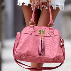 /pink purse