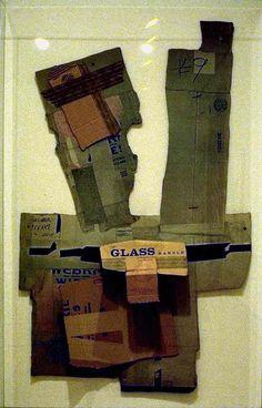 Robert Rauschenberg - Cardboard II