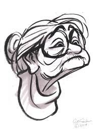 Image result for old lady cartoon