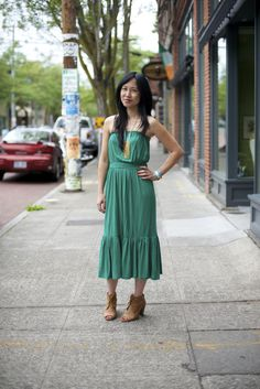 Boho dress Seattle style