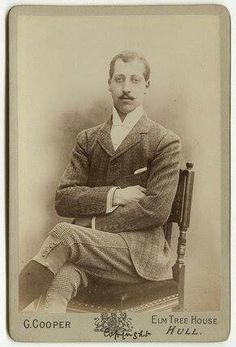 Prince Albert Victor, Duke of Clarence first born son of Edward VII and Queen Alexandra