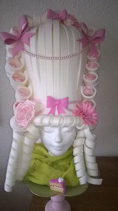 Marie Antoinette Foam wig made by Lady Mallemour