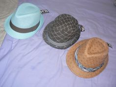 the 3 fabulous summer hats http://www.thorness.co.uk/ gently gave me