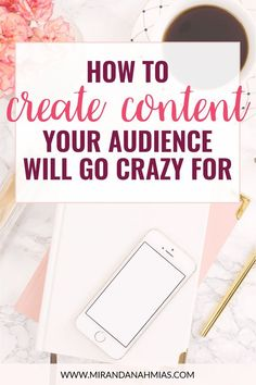 How to Create Content Your Audience Will Go Crazy For! The secret to getting your readers to share, engage, and comment // Miranda Nahmias Content Marketing Strategy, Media Marketing, Business Marketing, Business Tips, Online Business, Marketing Ideas, Marketing Tools, Business Quotes, Creative Business