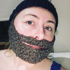 Haven't made one of these in a looooong time.. but I've never posted a bearded hat
