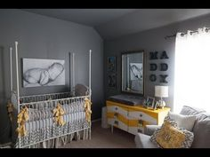 Vintage Railroad/Chevron Nursery - Project Nursery