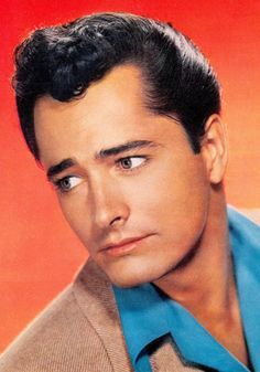 John Derek 1926-1998 was an actor and director, known for The Ten Commandments (1956), All the King's Men (1949) and Exodus (1960). He was married to Bo Derek, Linda Evans, Ursula Andress and Pati Behrs. PHOTOPLAY February 1953 (please follow minkshmink on pinterest) #johnderek #hollywood #heartthrob #hunk #fifties