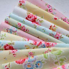 Lovely shabby chic fabrics