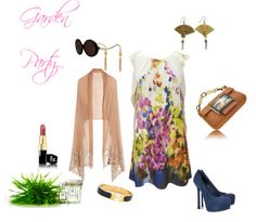 Garden Party outfit!! Why not be the flower garden