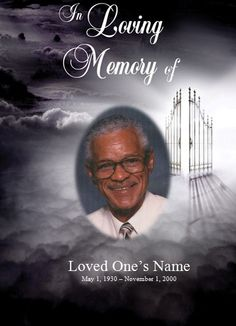 Heaven's Gate Memorial Service Template for Microsoft Word. Check out our…