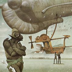 Jim Burns  is a science fiction illustrator and fantasy artist specializing in book cover art and specially commissioned paintings for collectors of SF and fantasy art. | gazette inspiration collector / the blog