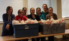 Girl Scouts of Wisconsin Southeast girls put together comfort kits through the American Red Cross. The kits include basic hygiene items and will be donated to families in need during local disasters. Great community service idea. #GirlScoutsRock