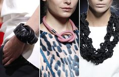 Joyas de pasarela: Complementos artesanales para la primavera-verano de 2013