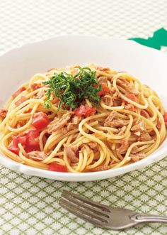 Wine Recipes, Pasta Recipes, Diet And Nutrition, Japanese Food, Food Photo, Food Dishes, Healthy Living, Spaghetti, Healthy Recipes