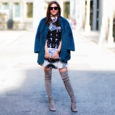 STUART WEITZMAN | The #HIGHLAND inspires warm, fuzzy fabulousness… #lexicon_of_style #inourshoes Shoes. Heels. Thigh-high boots. Fashion. Style. Suede. Amazing Suede. Trend. Fall. FW14. Fashion. Style. Outfit of the day. Shoe porn. SHOP NOW: http://sweitzman.com/HIGHLAND