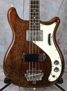 Epiphone Newport Bass 1965 Red Fox