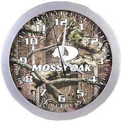 SIGNATURE PRODUCTS GROUP Mossy Oak Wall Clock, EA