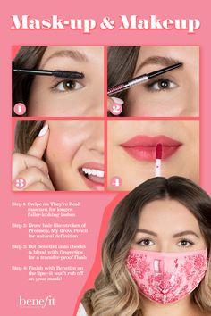 Diy Makeup Looks, Love Makeup, Makeup Tips, Mask Makeup, Skin Makeup, Beauty Hacks, Beauty Secrets, Beauty Tips, Waterproof Eyebrow