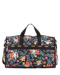 ce370f8800f LeSportsac Large Floral Weekender Bag, Marion Floral, Marion Flo Duffel Bags,  Weekender,