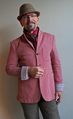 Zara jacket, Paul Smith shirt, Ben Sherman hat, Beausoleil frames