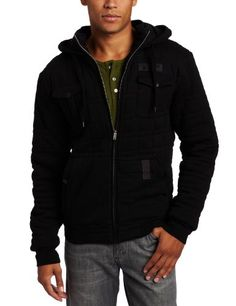 Something James would wear.  Tavik Men's Arctic Heavy Fleece Zip Hoodie « Clothing Impulse