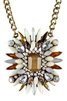 Stone Starburst Necklace