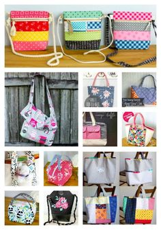 The Ultimate List of Fast and Easy Tote Bags to Sew (with free sewing patterns) - bebe debutant couture de couture couture facile couture Bag Patterns To Sew, Sewing Patterns Free, Free Sewing, Sewing Tutorials, Bag Tutorials, Quilting Tutorials, Diy Purse Making, Clutch Bag Pattern, Shabby Chic Stil