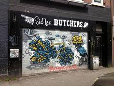 In Amsterdam . Street Art at Sid Lee Ad Agency London Boroughs, Mayor Of London, Roller Shutters, Stand Design, Advertising Agency, Art Google, Amsterdam, Graffiti, Street Art