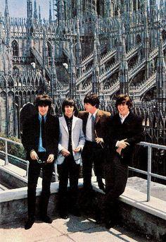 The Beatles in Milan, June 24, 1965