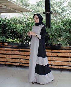 27+ Trend Model Baju Islami Nissa Sabyan - Model Baju Muslim Kebaya Modern Dress Muslim Modern, Muslim Long Dress, Dress Batik Kombinasi, Moslem Fashion, Model Kebaya, Hijab Trends, Abaya Designs, Islamic Clothing, Beautiful Hijab