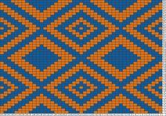 Tricksy Knitter Charts: Tapestry Clutch by Alison Crochet Chart, Filet Crochet, Crochet Stitches, Knitting Charts, Knitting Patterns, Beading Patterns, Cross Stitch Designs, Cross Stitch Patterns, Mochila Crochet