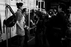 Custo Barcelona en entrevista previo al desfile - ph: Guillermina Fernandez