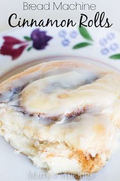 Bread Machine Cinnamon Rolls - Marty's Musings