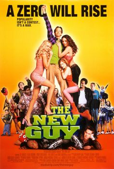 The New Guy (2002). One of my top favourite movies of all time! Watched it millions of times with friends, my dad, even by myself haha. Just so classic!